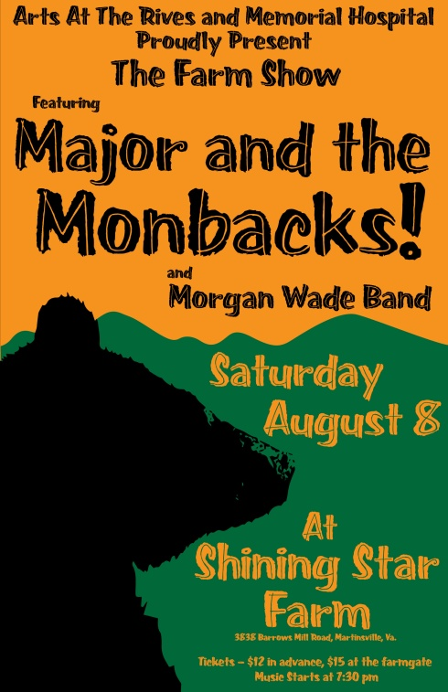 Major and Monbacks Farm Show Poster-01