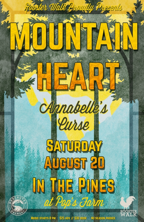 Poster MountainHeart_Pines
