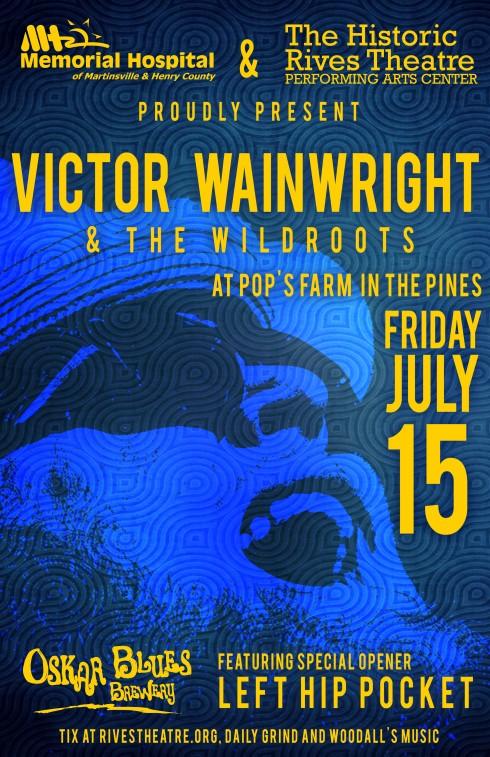 Victor Wainwright ShowPoster_OB