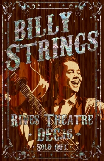 billy Strings 121617 poster copy