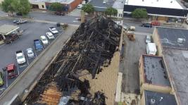 Drone photos by Asher Talbot of Martinsville Bulletin